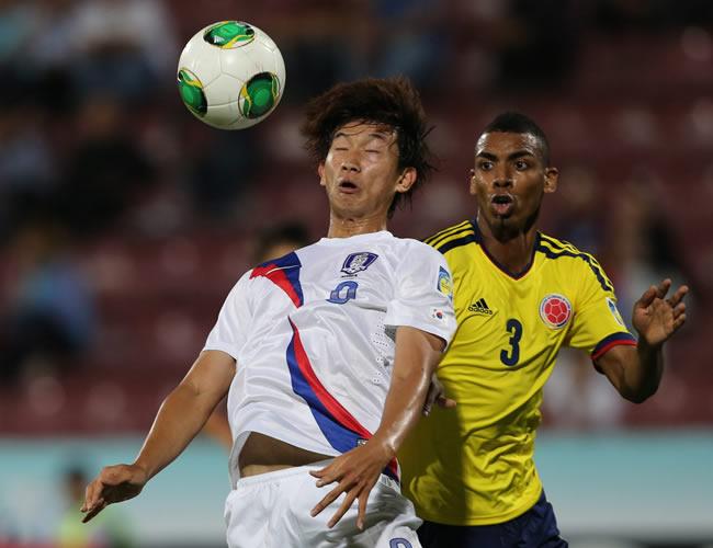 Colombia y Paraguay sorprendidas por los asiáticos mientras Chile avanza