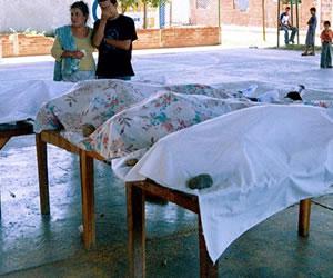 Ocho muertos en diversos enfrentamientos de pandillas en Colombia