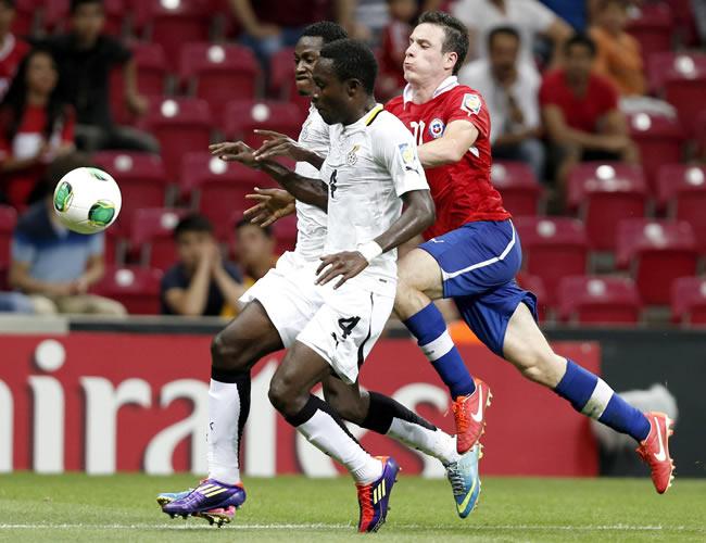 La prórroga premia a Ghana en un duelo épico ante Chile