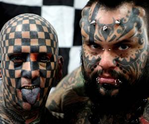 "Fanáticos del tatoo se dieron cita en ""Expo Tatuaje"" 2013"