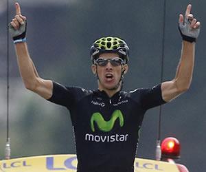 Rui Costa repite triunfo en el Tour y el podio se mantiene sin cambios