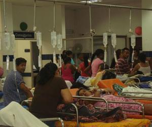 La culpa de la crisis en hospitales es del Gobierno: Distrito