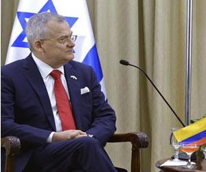 Fernando Alzate nuevo embajador de Colombia en Israel