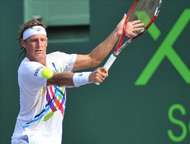 El tenista argentino David Nalbandian. Foto: EFE
