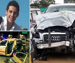 Juez envía a la cárcel al conductor Fabio Salamanca