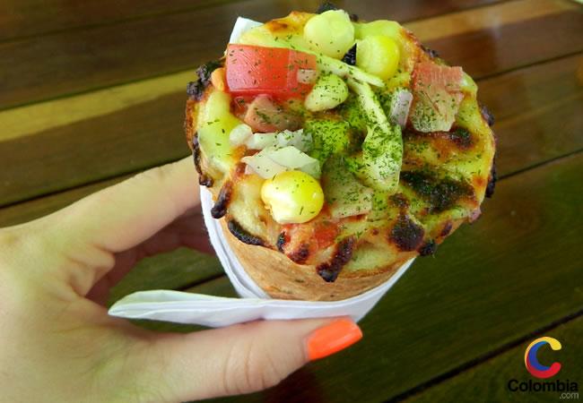 Cone Pizza: La nueva forma de comer pizza llega a Bogotá