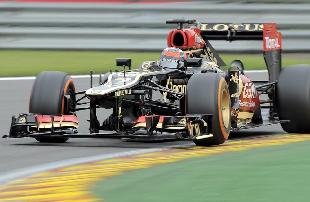 El piloto finlandés Kimi Raikkonen durante la clasificación del Gran Premio de Bélgica. Foto: EFE