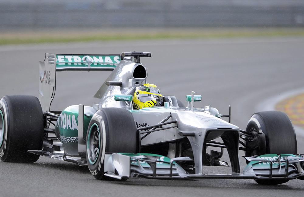 El piloto británico Lewis Hamilton durante la clasificación del Gran Premio de Bélgica. Foto: EFE