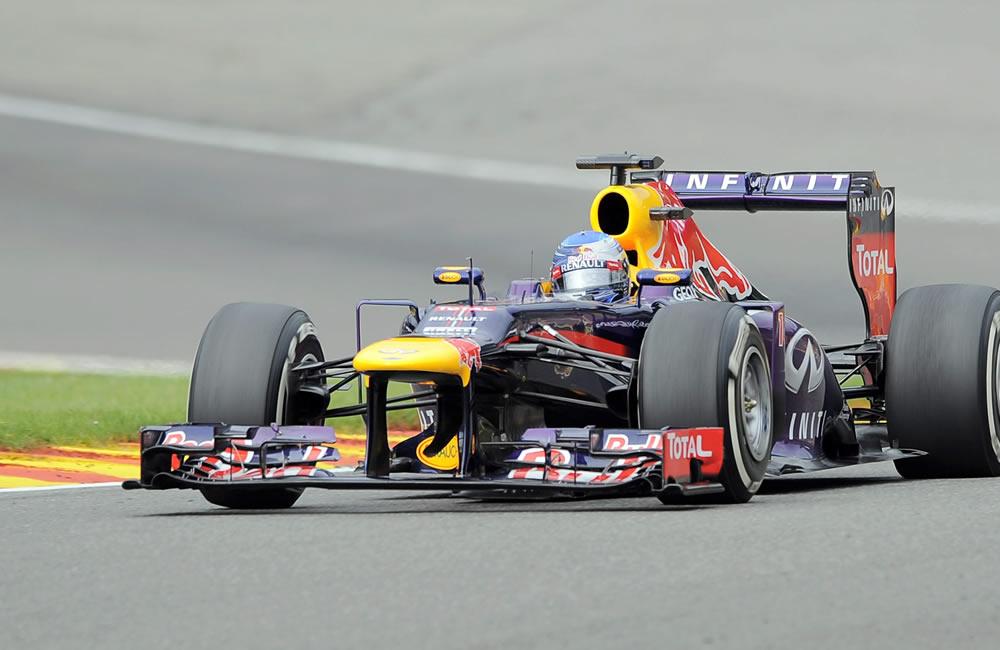 Alonso mejora en Spa-Francorchamps, pero Vettel sigue siendo inalcanzable