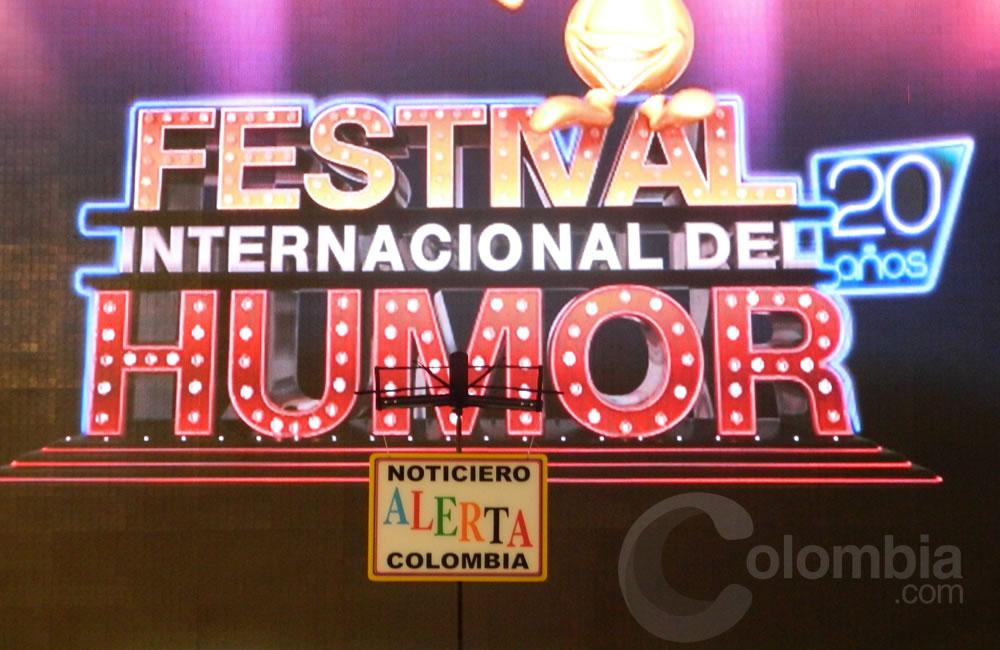 Presentación del Festival Internacional del Humor en Caracol Televisión. Foto Alejandra Fontecha e Ivon Herrera