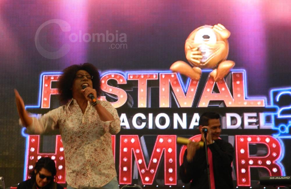 El imitador Camilo Cifuentes presente en el Festival Internacional del Humor. Foto Alejandra Fontecha e Ivon Herrera