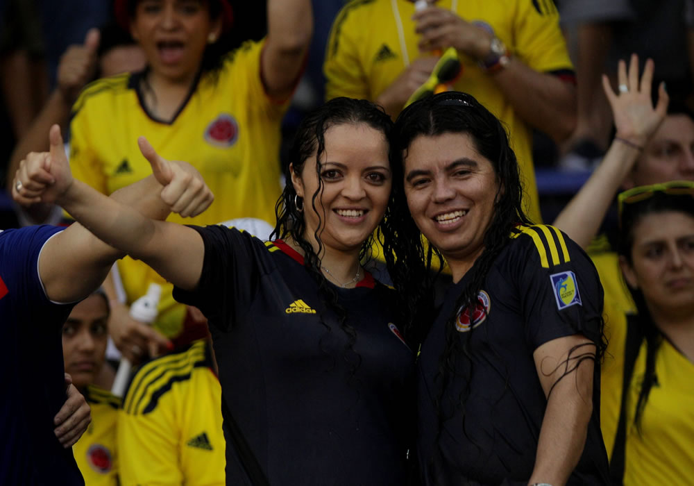 Principales imágenes de Colombia-Ecuador en Barranquilla