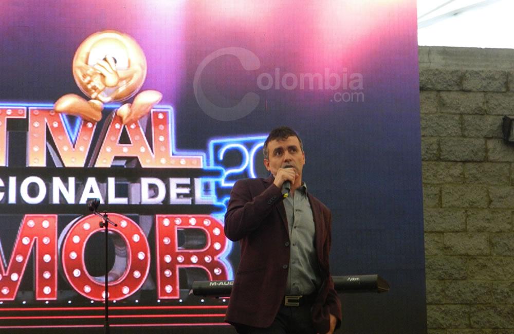 El humorista 'Carroloco' presente en el Festival Internacional del Humor. Foto Alejandra Fontecha e Ivon Herrera