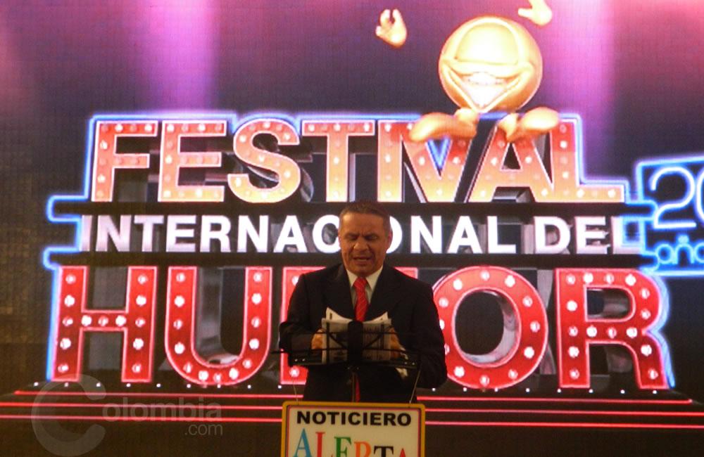 El comediante Alerta presente en el Festival Internacional del Humor. Foto Alejandra Fontecha e Ivon Herrera
