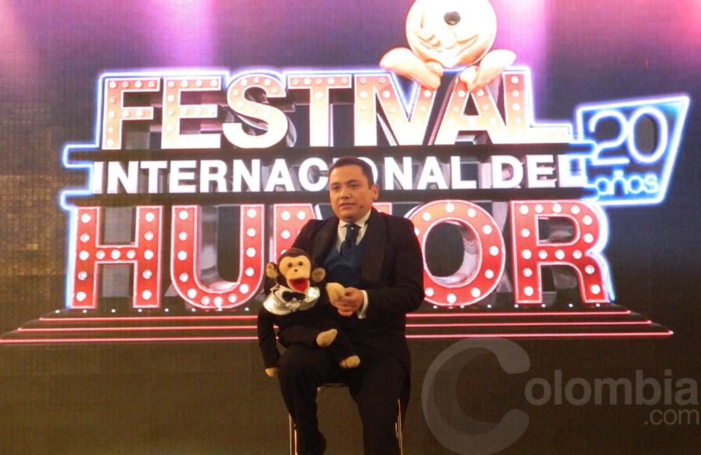 El humorista Jorge Muñoz, 'Tato' presente en el Festival Internacional del Humor. Foto Alejandra Fontecha e Ivon Herrera