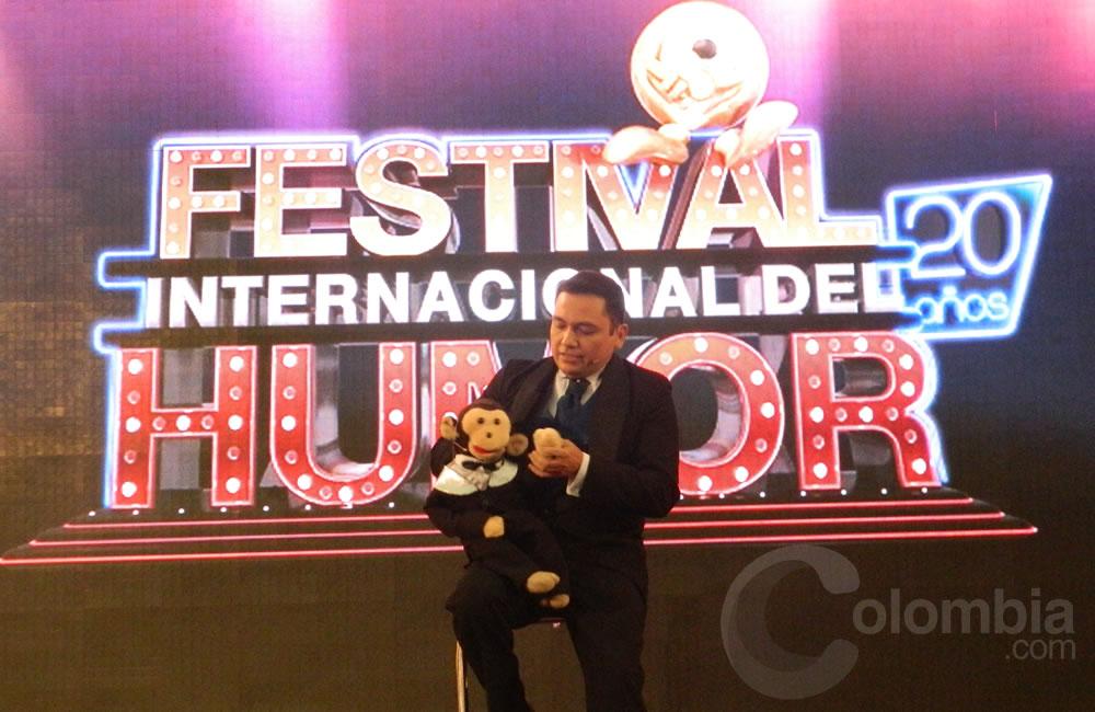 El comediante Jorge Muñoz, 'Tato' presente en el Festival Internacional del Humor. Foto Alejandra Fontecha e Ivon Herrera