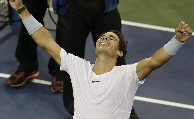 Nadal y Djokovic disputarán la final del torneo de tenis de EEUU. Foto: EFE