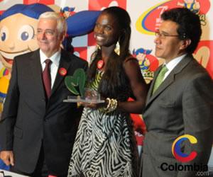 Caterine Ibargüen, Mujer Deportista del Año