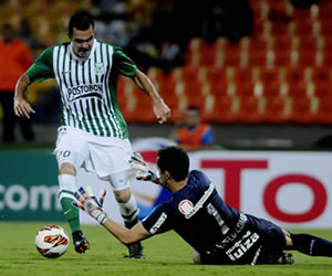Nacional saca ventaja en casa y espera dar el paso a cuartos en Brasil