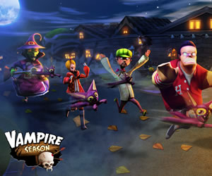 Vampire Season, ¡recargado para Halloween!
