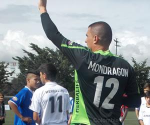 Farid Mondragón, arquero de la selección Colombia. Foto: Paula Madrid / Colombia.com