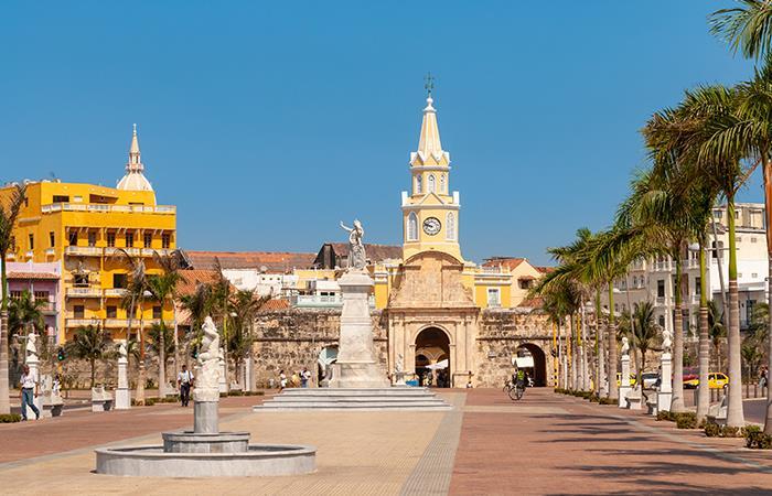 El Camellón de los Mártires conecta al centro de Cartagena. Foto: Shutterstock