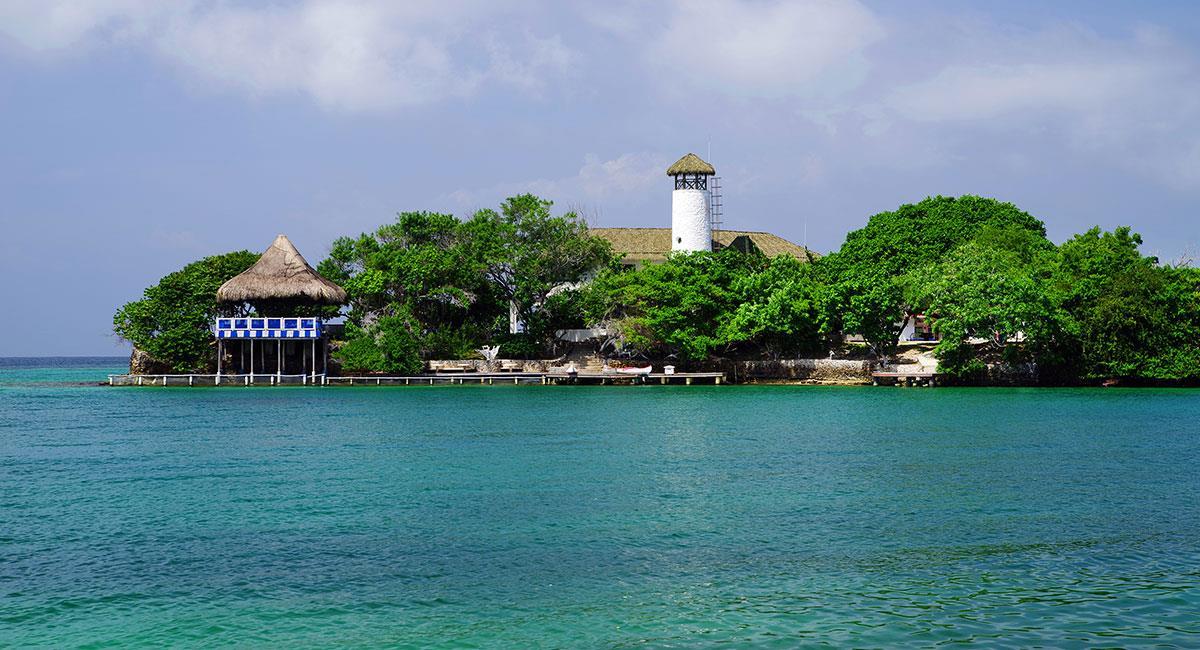 El Parque Nacional Natural Corales del Rosario y San Bernardo. Foto: Shutterstock