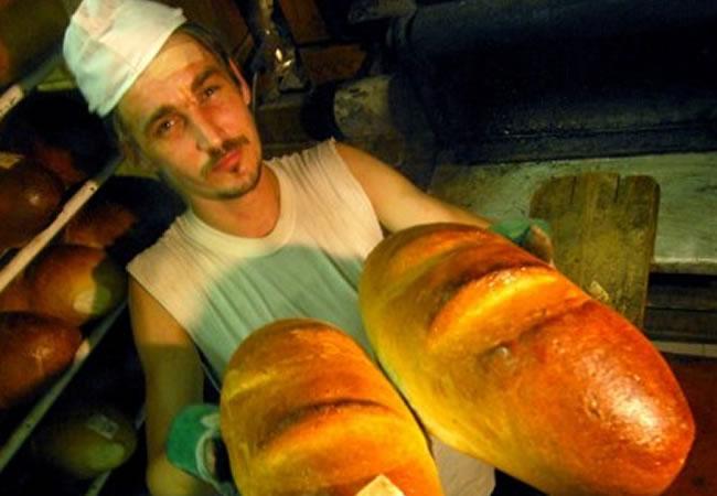 Panaderos españoles de celebración