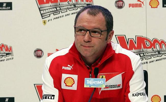 Domenicali admite que la alarma en Ferrari empezó a sonar en julio. Foto: EFE