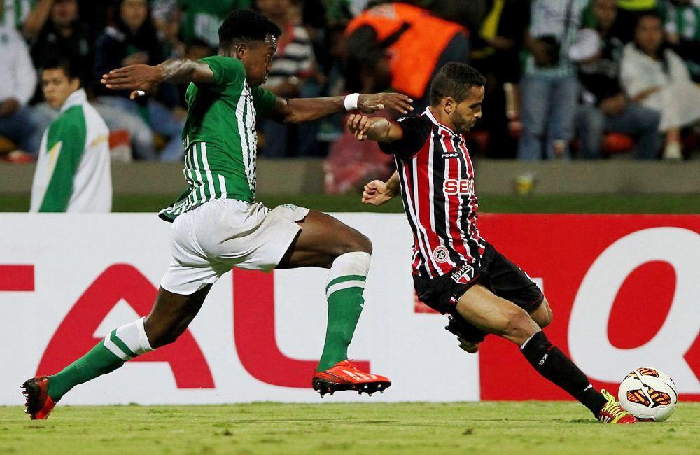 Nacional no pudo con São Paulo y quedó afuera de la Copa