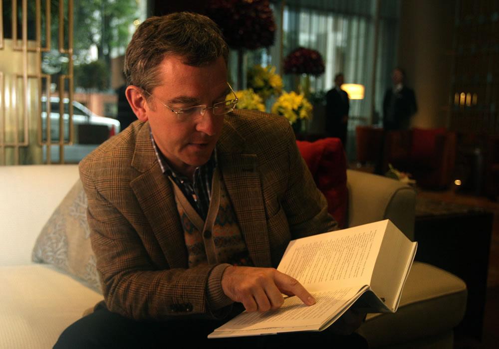 El escritor español Santiago Posteguillo, autor de dos trilogías sobre la antigua Roma. Foto: EFE