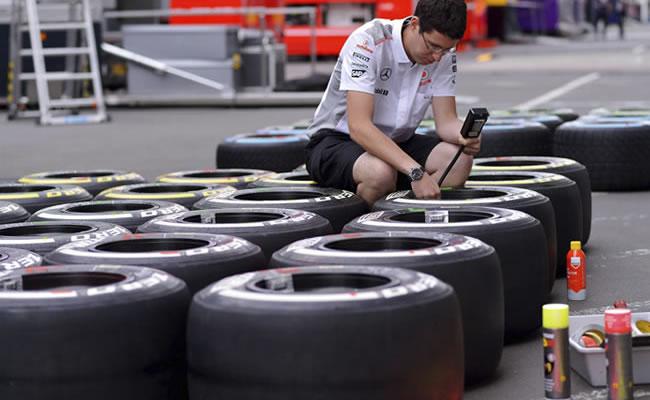 Pirelli elige neumáticos medios y duros para el GP de Estados Unidos
