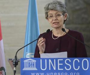 Irina Bokova reelegida por la Unesco