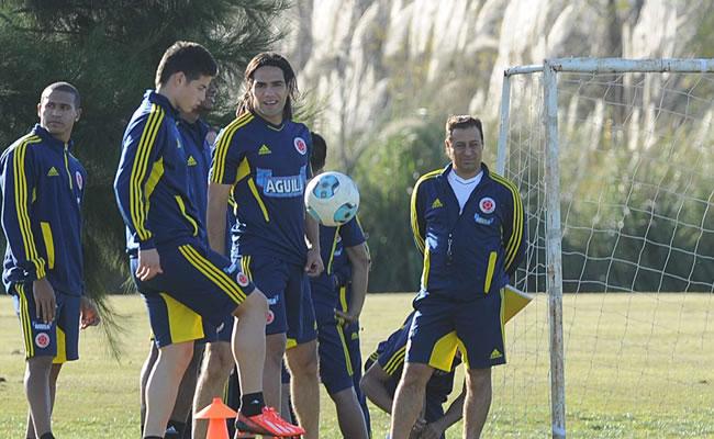 Bélgica y Colombia se miden como aspirantes a equipo revelación para Brasil. Foto: EFE