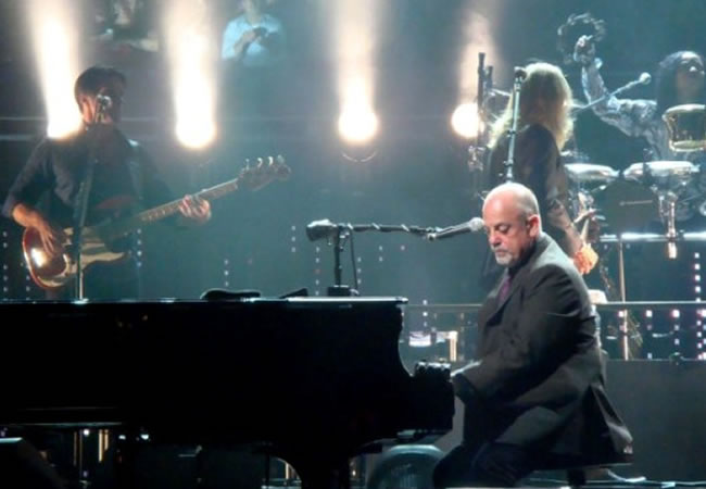 Billy Joel dará conciertos en el Madison Square Garden cada mes
