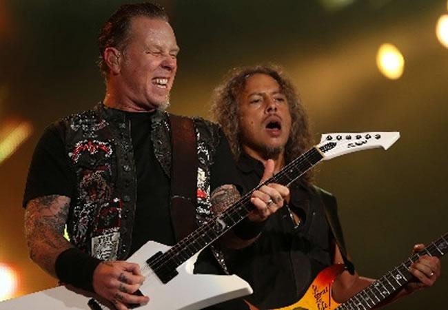 Metallica regresa a Colombia en marzo de 2014