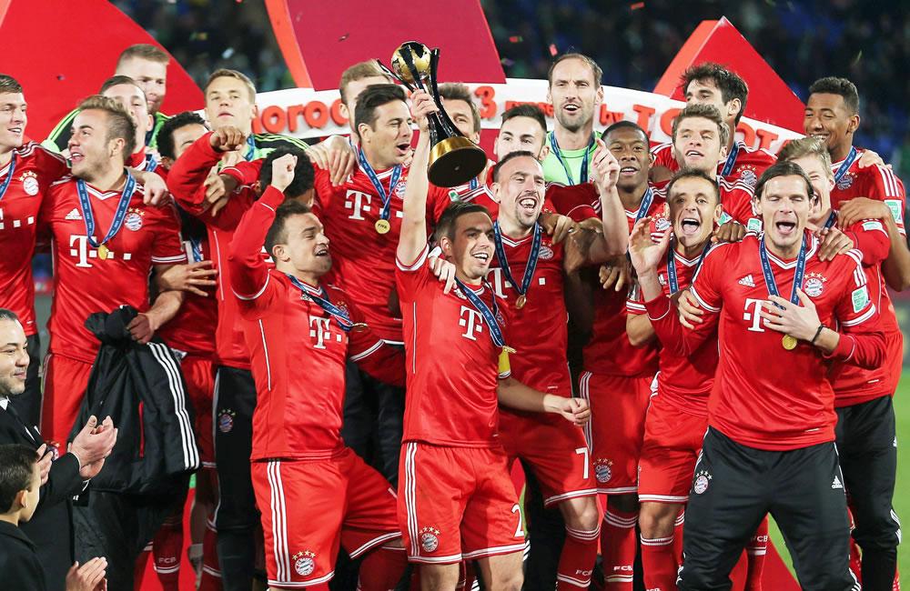 Resultado de imagen para BAYERN MUNICH 2013 mundial de clubes