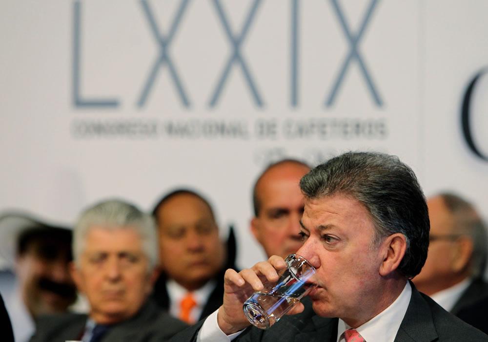 Juan Manuel Santos, presidente de Colombia. EFE