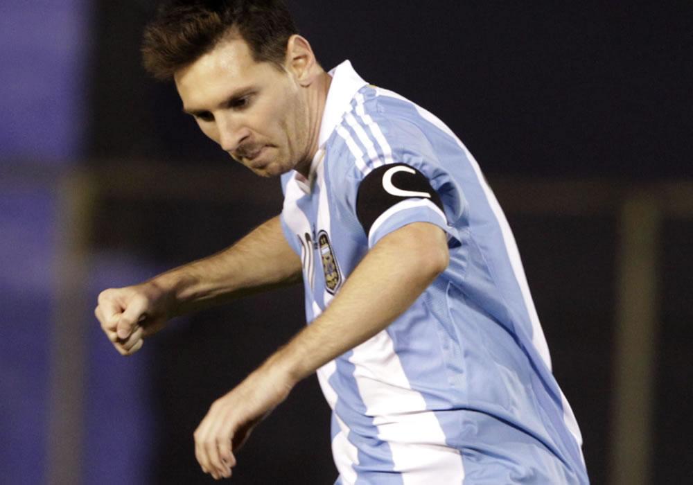 Leo Messi llevará a la selección argentina a jugar a Rosario antes del Mundial. Foto: EFE