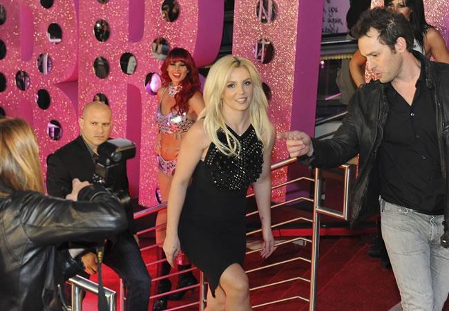 Britney Spears a su llegada al Planet Hollywood Resort & Casino de Las Vegas