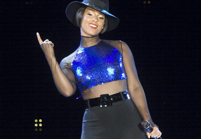 Blackberry prescinde de los servicios de Alicia Keys