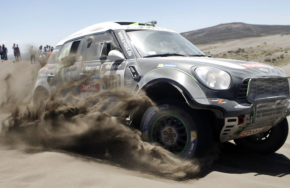 El Dakar más extremo en América Latina. Foto: EFE