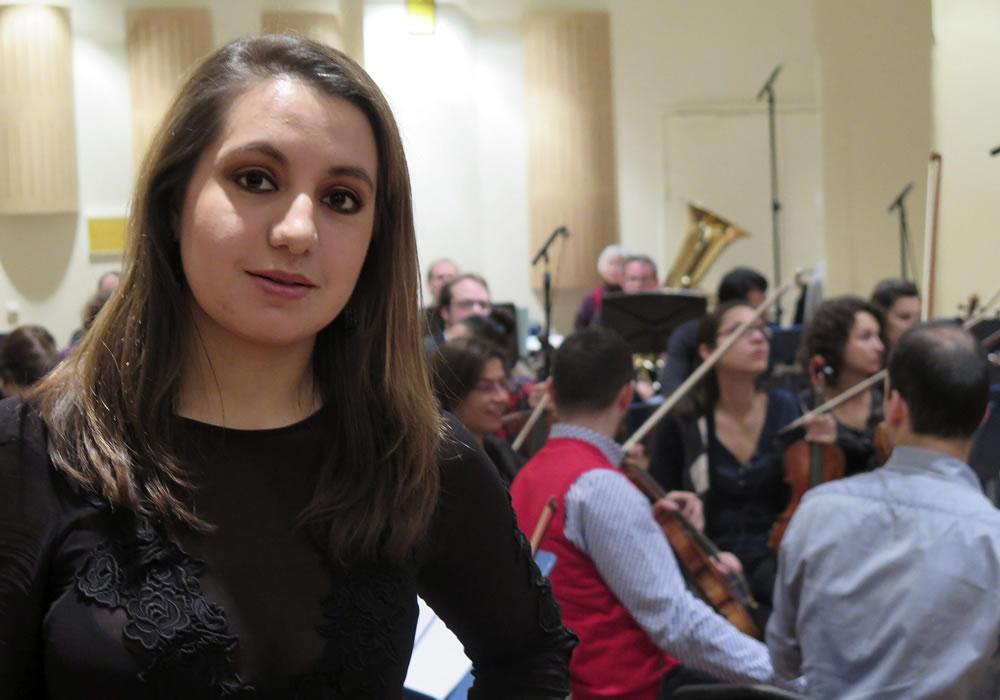 Colombiana funda la primera orquesta de Viena para cine