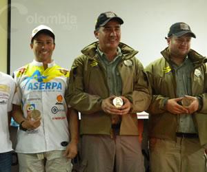 Así recibieron a los pilotos colombianos que participaron en el Rally Dakar 2014