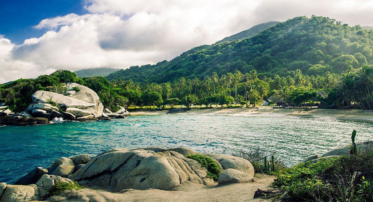 ParqueTayrona Región Caribe en Colombia. Foto: Shutterstock