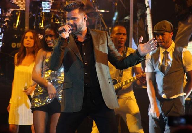 Ricky Martin conquistó Viña del Mar en su noche inaugural
