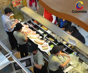 Subway se expande en Colombia y llega a su restaurante número 200