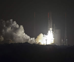 Ariane 5 despega para colocar en órbita un nuevo satélite de Hispasat