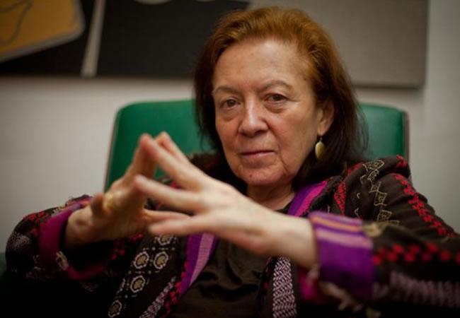 La colombiana Ana Mercedes Hoyos