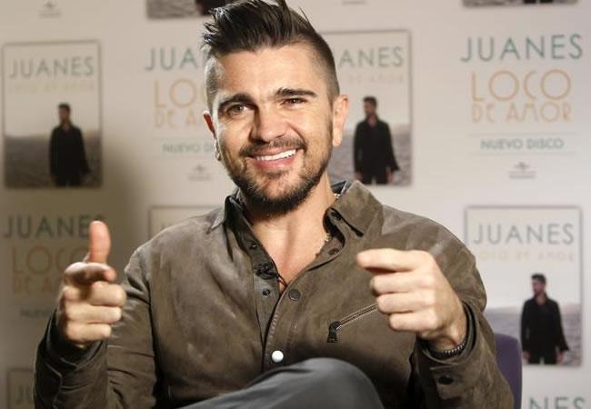 Juanes dice que el